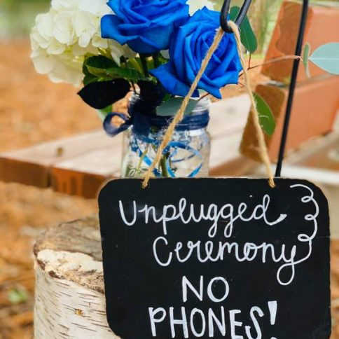 Signs for ceremony
